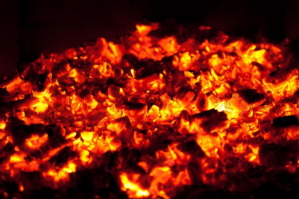 Coal-fire - Burning Coal PNG