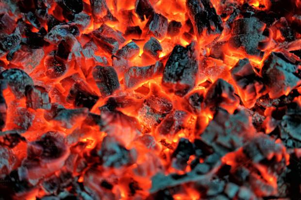Hot Coal And Fire Texture - Burning Coal PNG