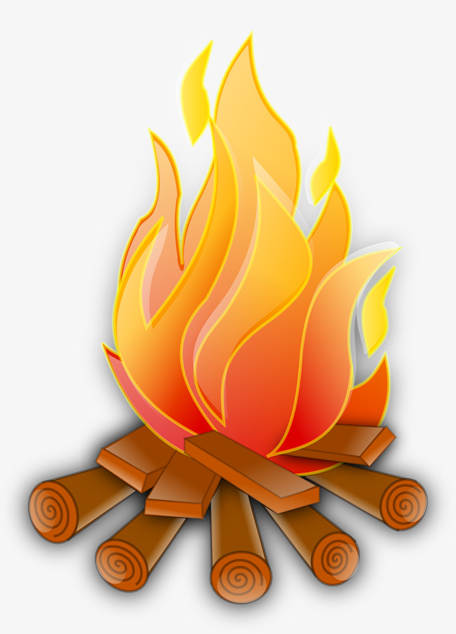 Burning Flame, Combustion, Flame, Wood PNG Image And Clipart - Burning Wood PNG