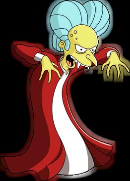 Count Burns.png - Burns PNG