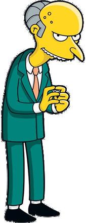 File:Mr. Burns.png - Burns PNG