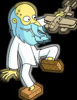 File:Reclusive Mr. Burns Unlock.png - Burns PNG