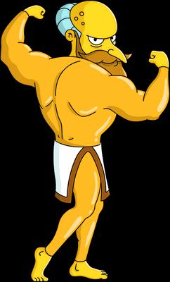 New God Mr. Burns Unlock.png - Burns PNG