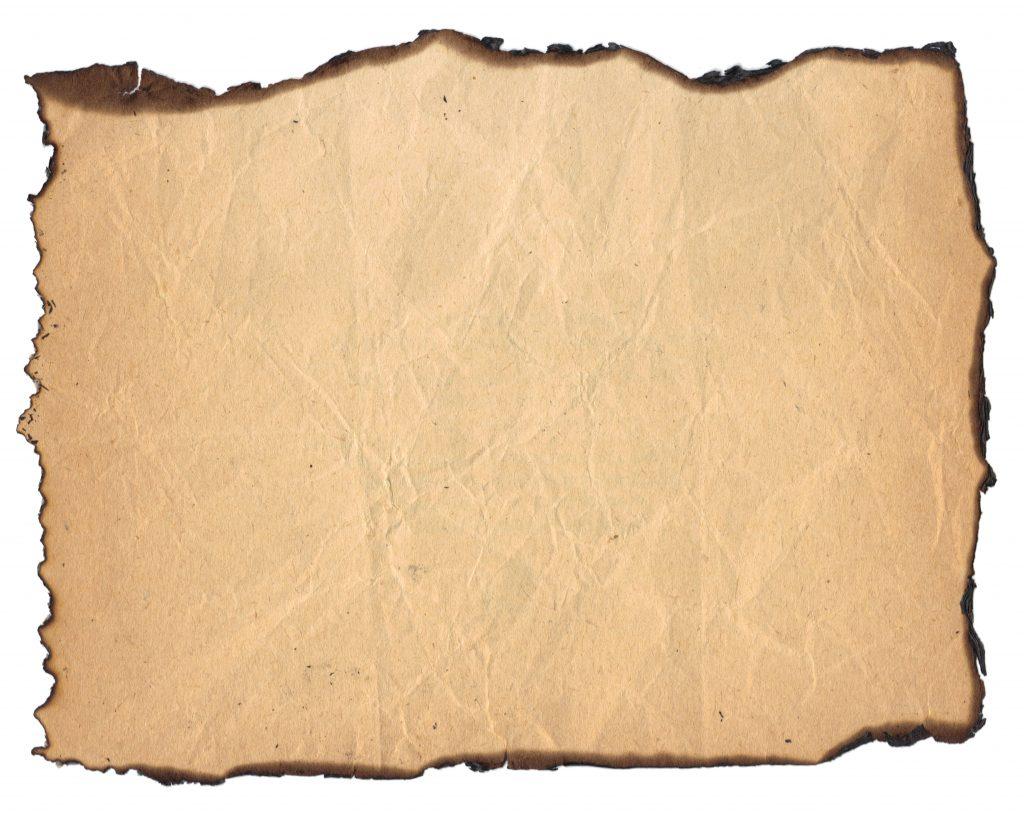 Burnt Paper PNG - 161783
