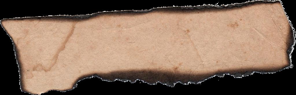 Burnt Paper PNG - 161789