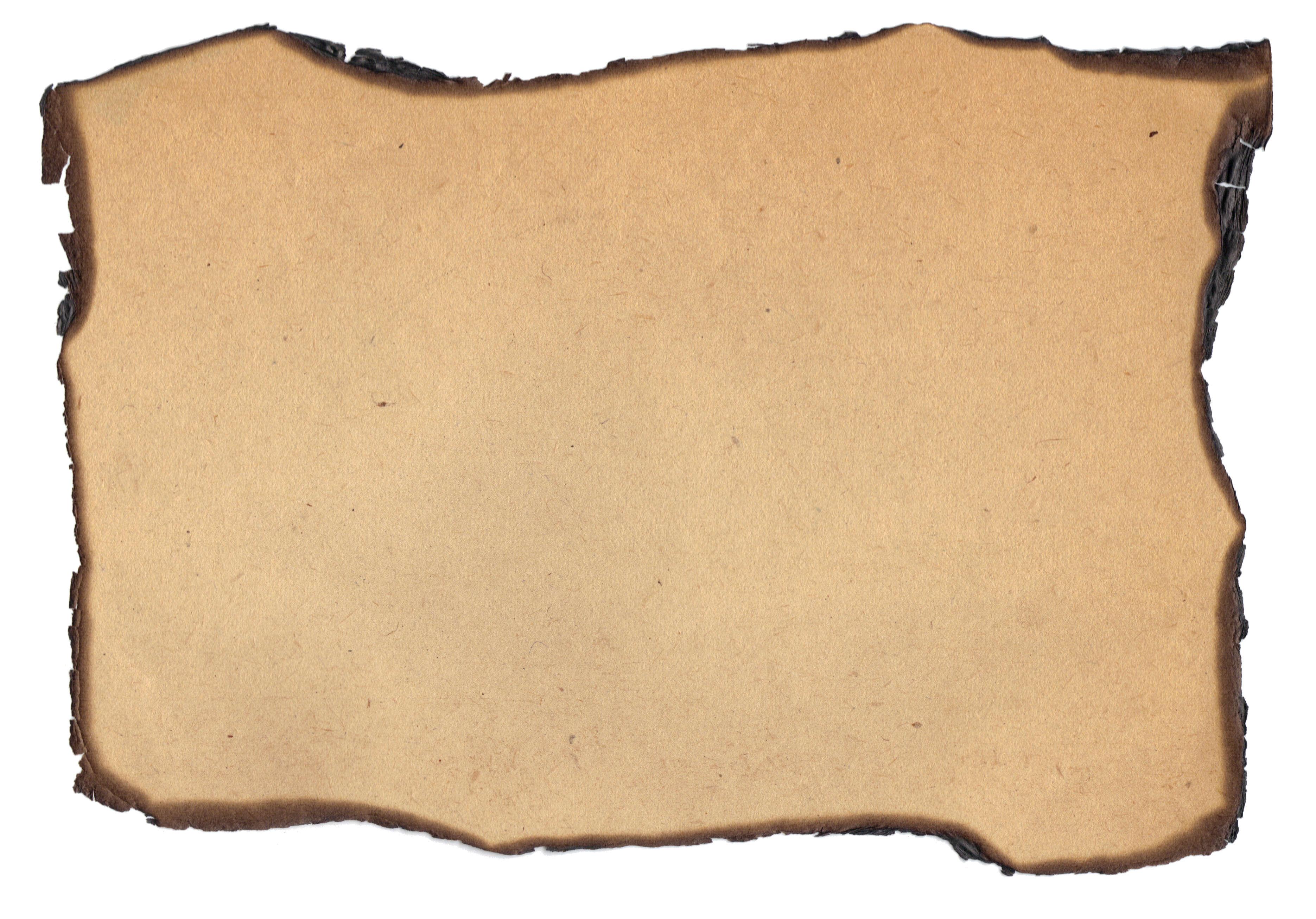 Burnt Paper PNG - 161794