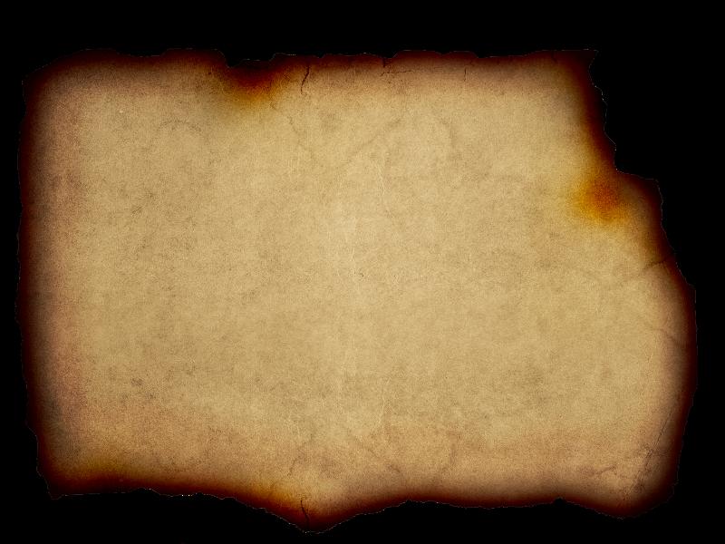 Burnt Paper PNG - 161780