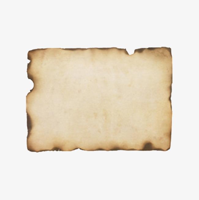Burnt Paper PNG - 161785