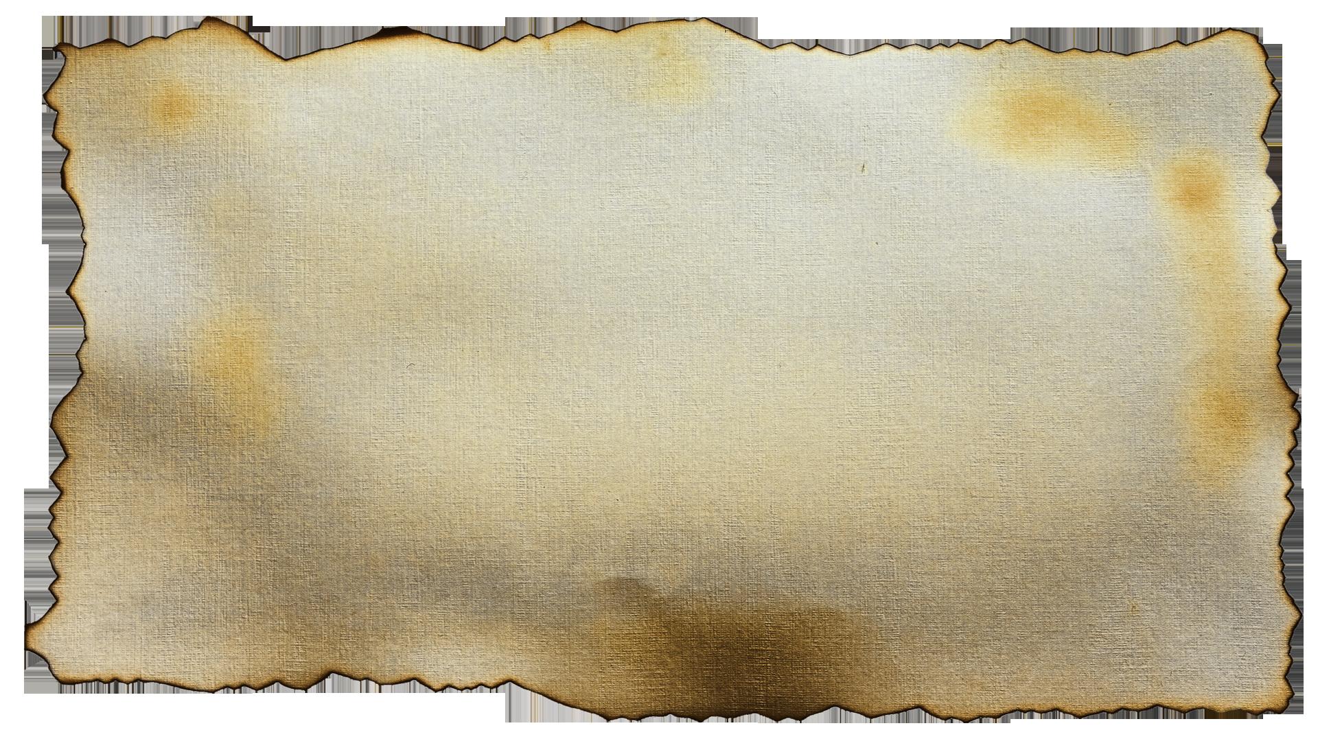 Burnt Paper PNG - 161793