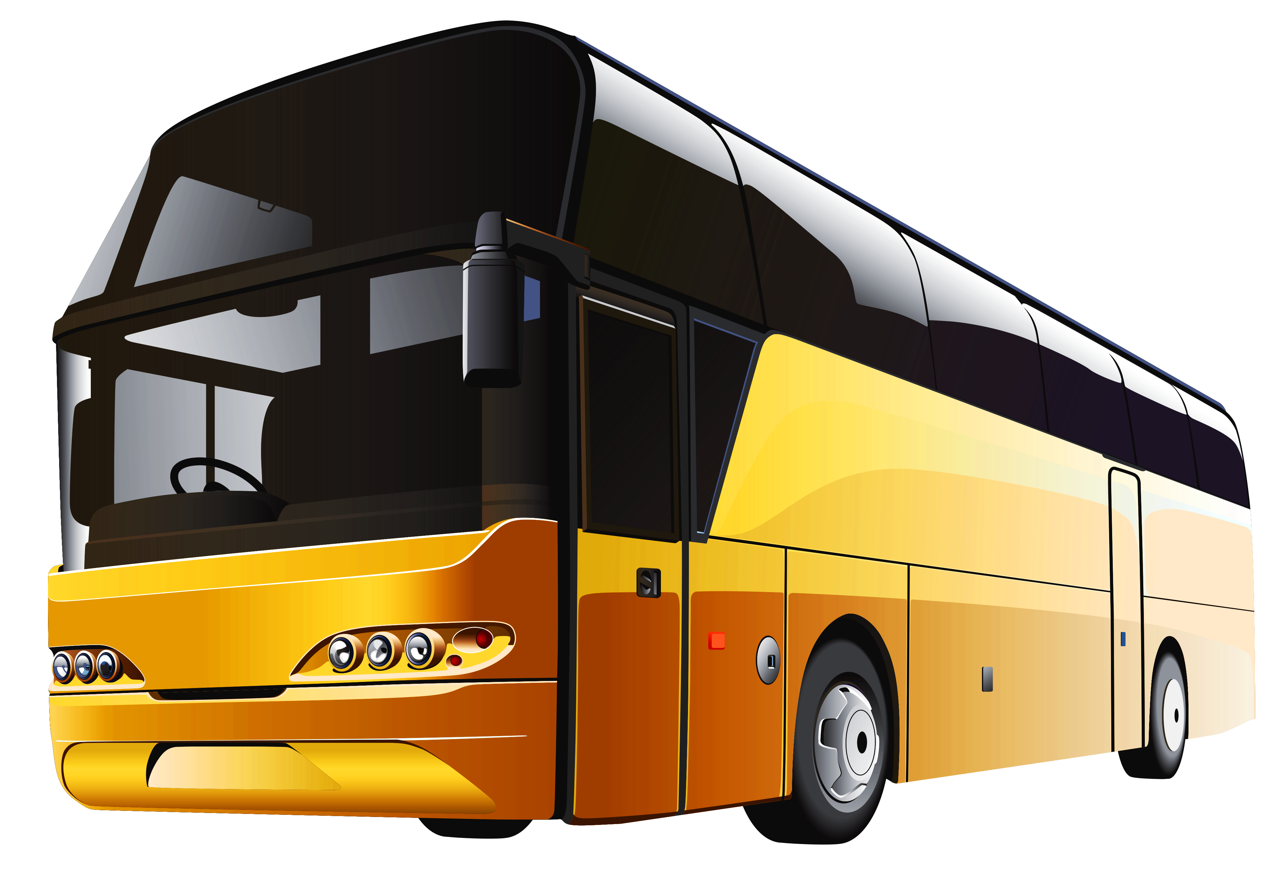 Yellow Bus PNG Clipart Best - Bus PNG