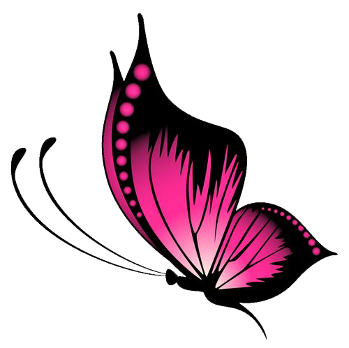 Pink Butterfly PNG File - Butterfly PNG