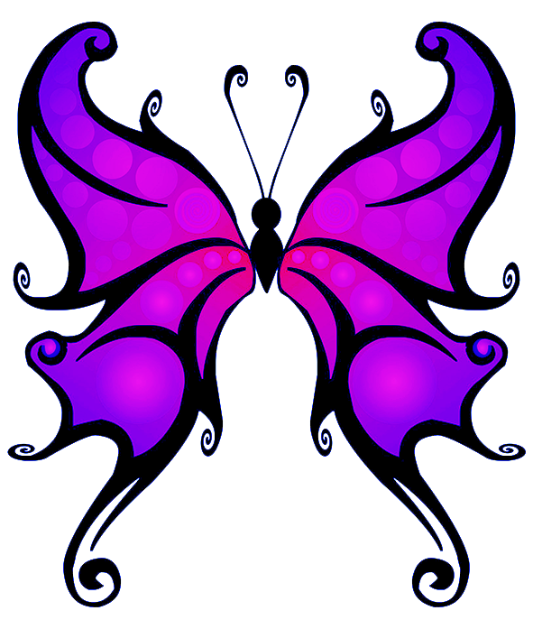 Purple Butterfly PNG Clipart - Butterfly PNG