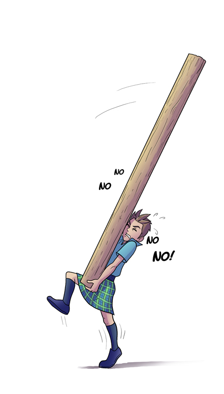 Image - Caber Toss PNG
