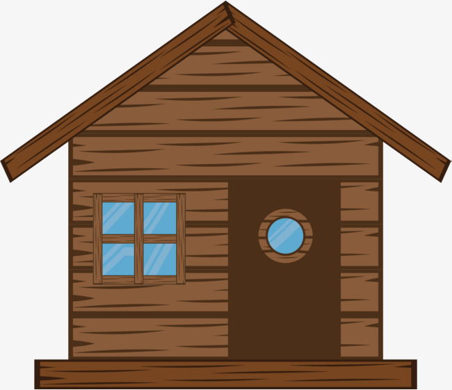 cartoon house, Farmhouse, Forest House, Log Cabin PNG and Vector - Cabin PNG Free