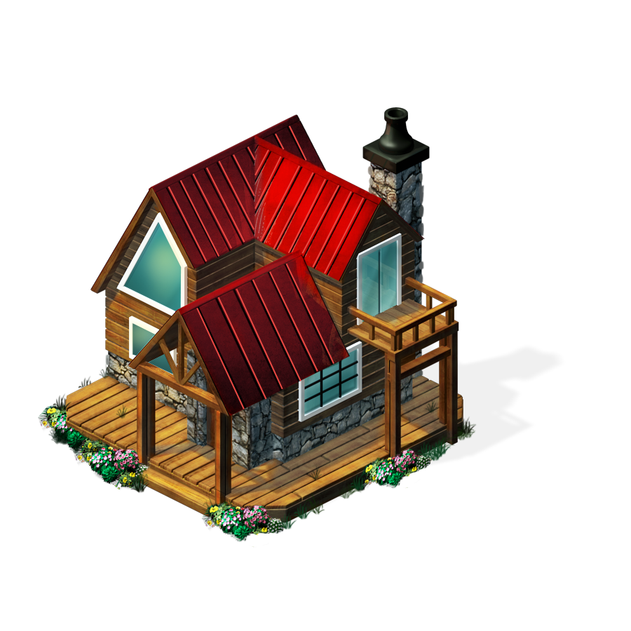 Freeitem Log Cabin-icon.png - Cabin PNG Free