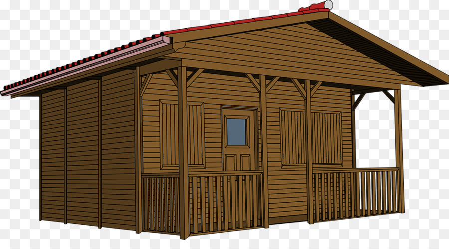 Log cabin Cottage Drawing Clip art - cabin - Cabin PNG Free