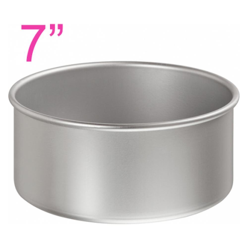 7u0026quot; / 18cm professional round aluminium cake PlusPng.com  - Cake Pan PNG