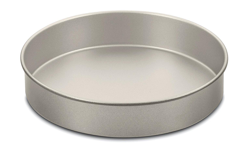 Amazon Pluspng.com: Cuisinart AMB-9RCKCH 9-Inch Chefu0027s Classic Nonstick Bakeware  Round Cake Pan, Champagne: Kitchen U0026 Dining - Cake Pan PNG