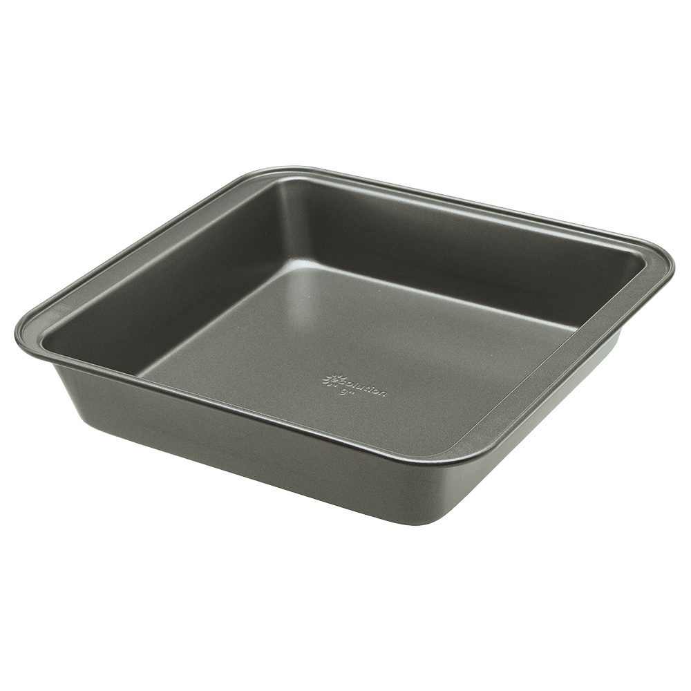 grey square cake pan - Cake Pan PNG