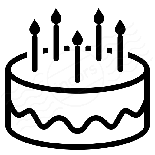 Cakes Png Black And White Transparent Cakes Black And White Png