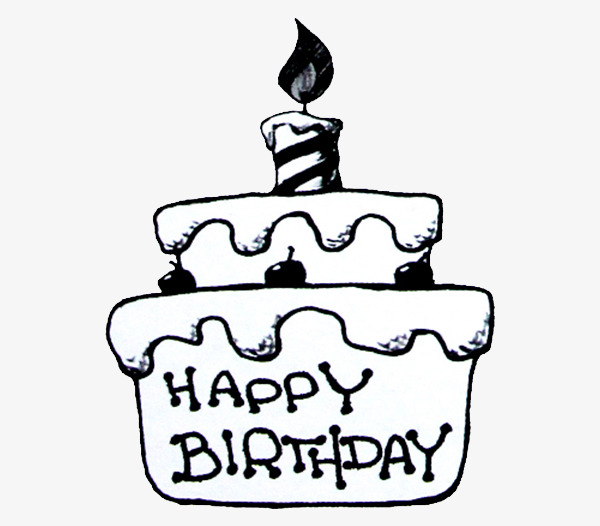 Cakes Png Black And White Transparent Cakes Black And Whiteg