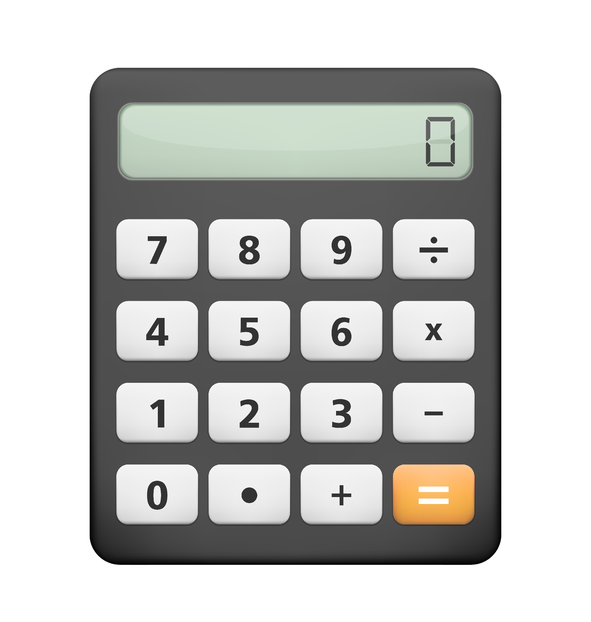 Calculator White Background HD Photos - Calculator HD PNG