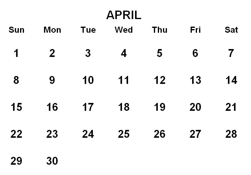 File:Calendar 2018 05.png - Calendar April PNG