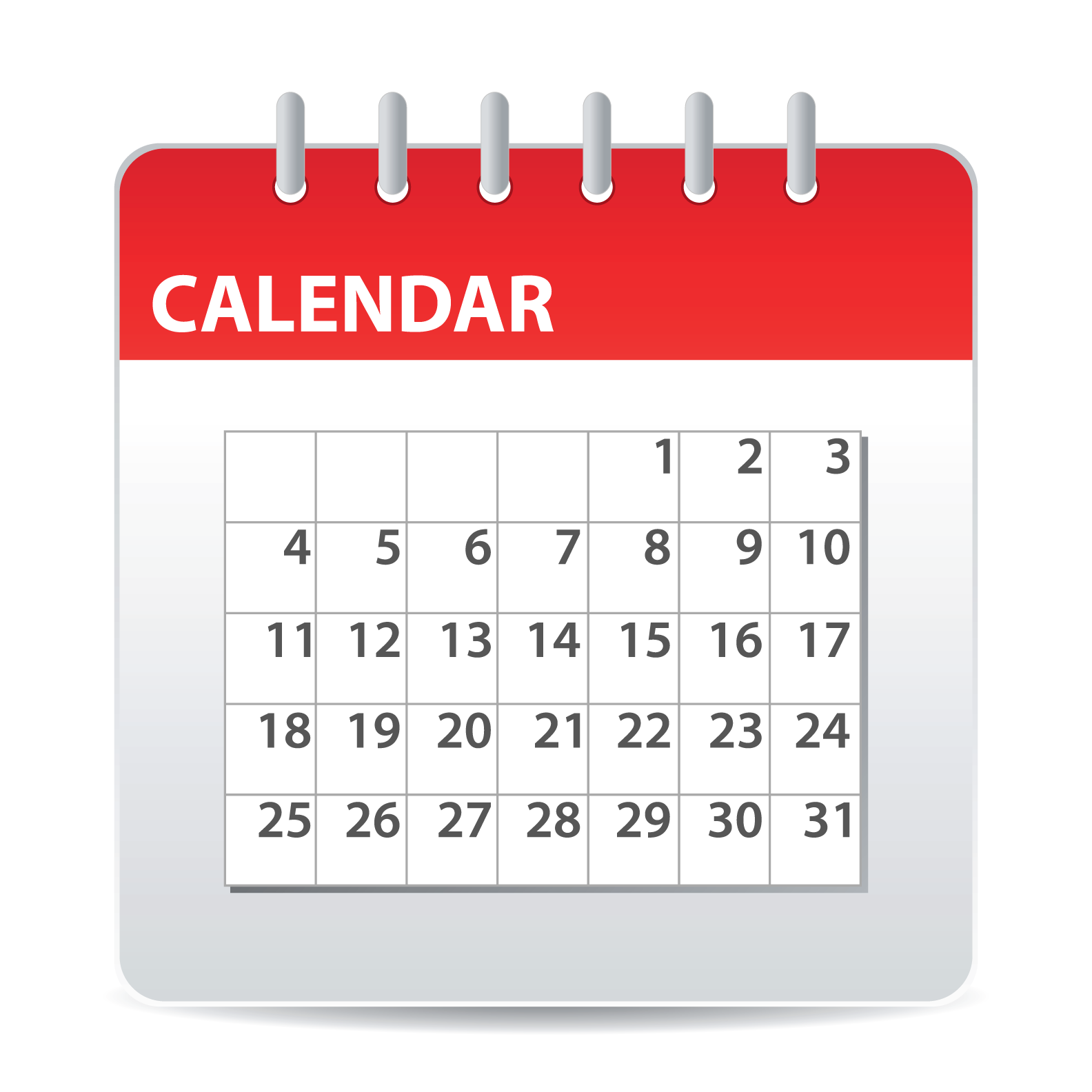 Calendar PNG - 717
