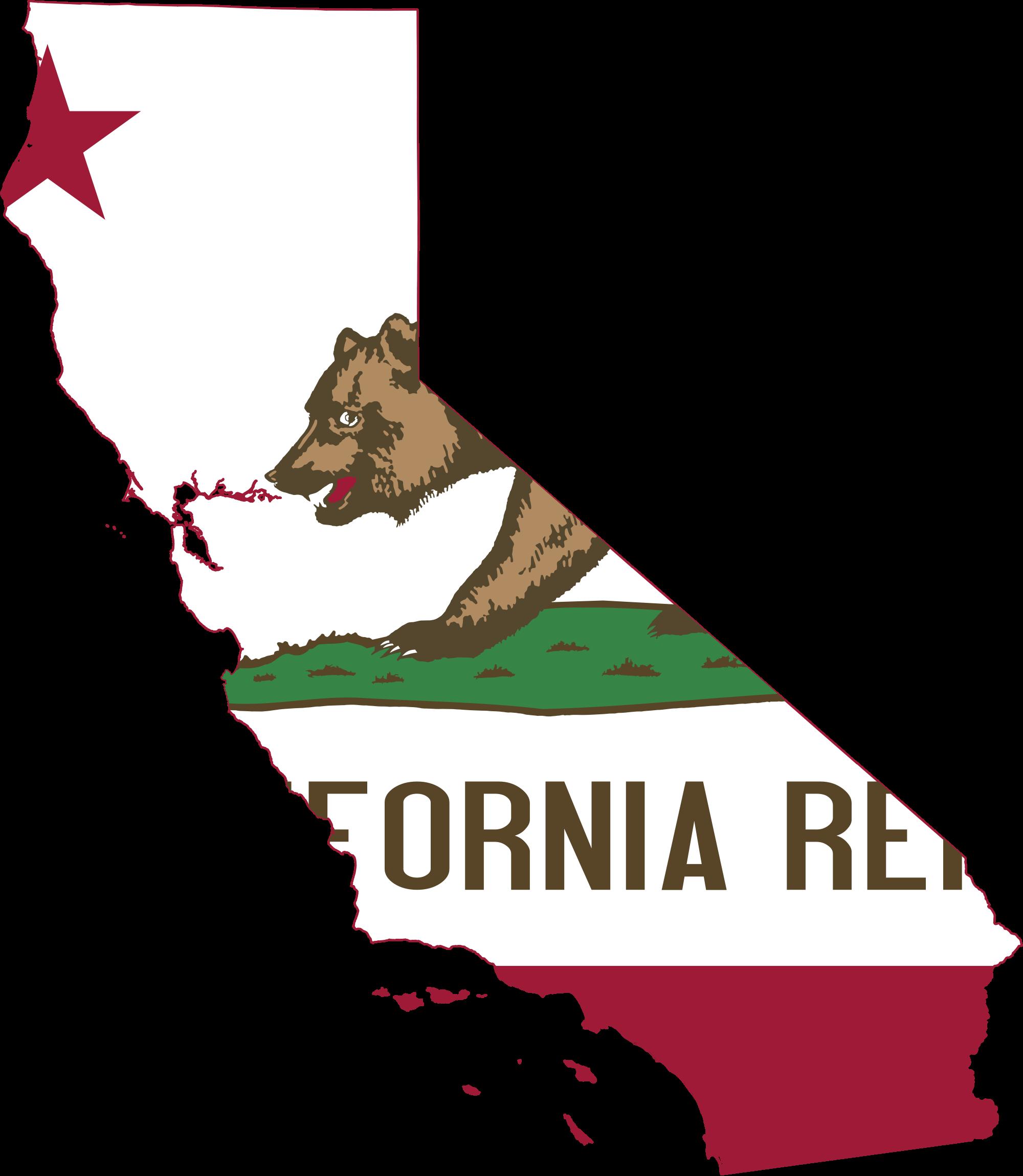 California Map PNG - 144915