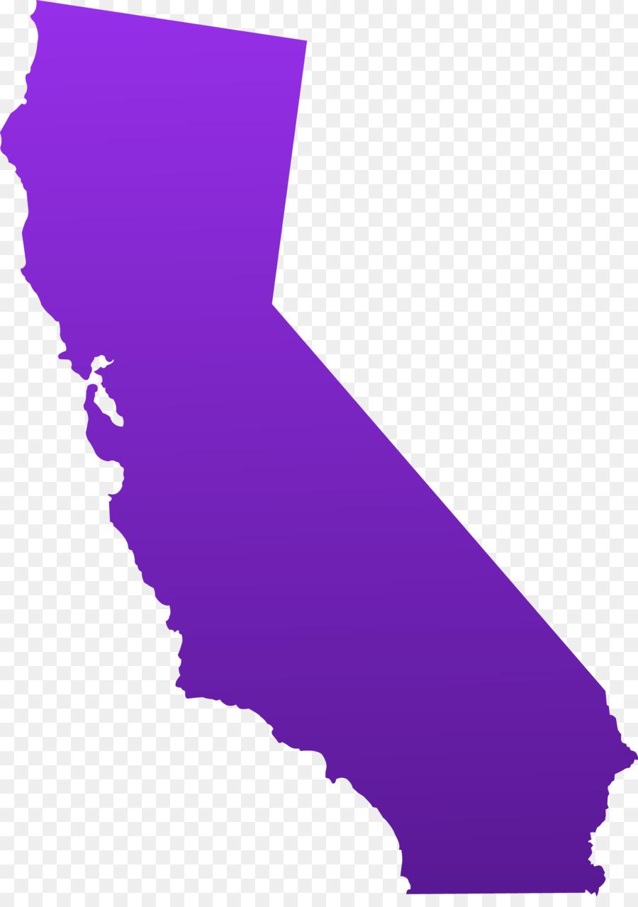 California Map PNG - 144910
