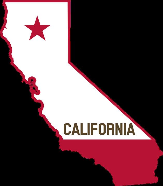 California Map PNG - 144912