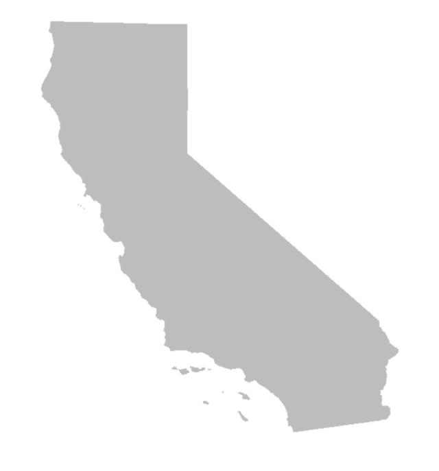 California Map PNG - 144897