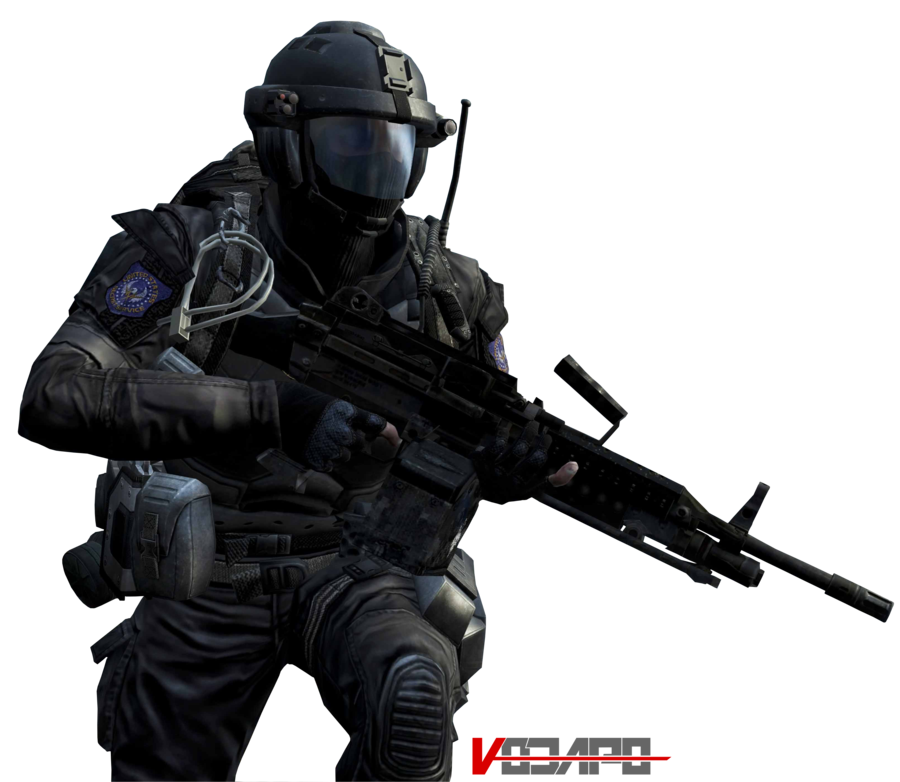 Call of Duty: Black Ops 2 - HD Render #2 by Vodapo PlusPng.com  - Call Of Duty HD PNG