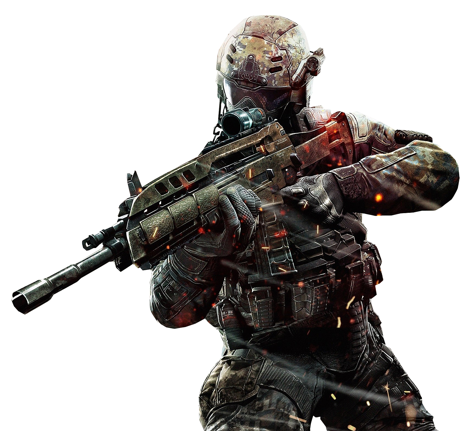 Call Of Duty Png Black - Call Of Duty PNG
