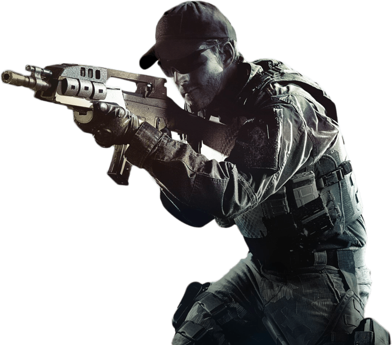 Call Of Duty Soldier - Call Of Duty PNG