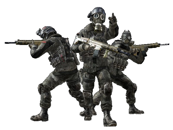 File:MW3 Spetsnaz Commandos.png - Call Of Duty PNG