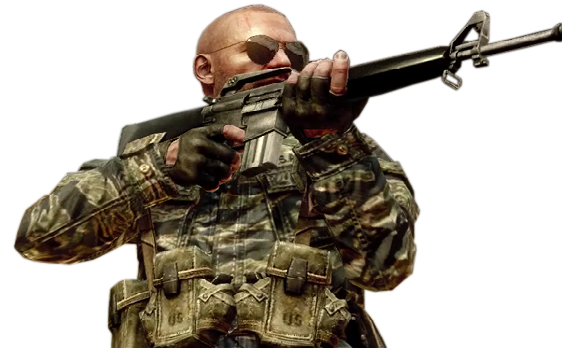 Redskinu0027s Hudson.png - Call Of Duty PNG