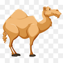A camel, Hand Painted, Animal, Camel PNG Image and Clipart - Camel PNG Cartoon