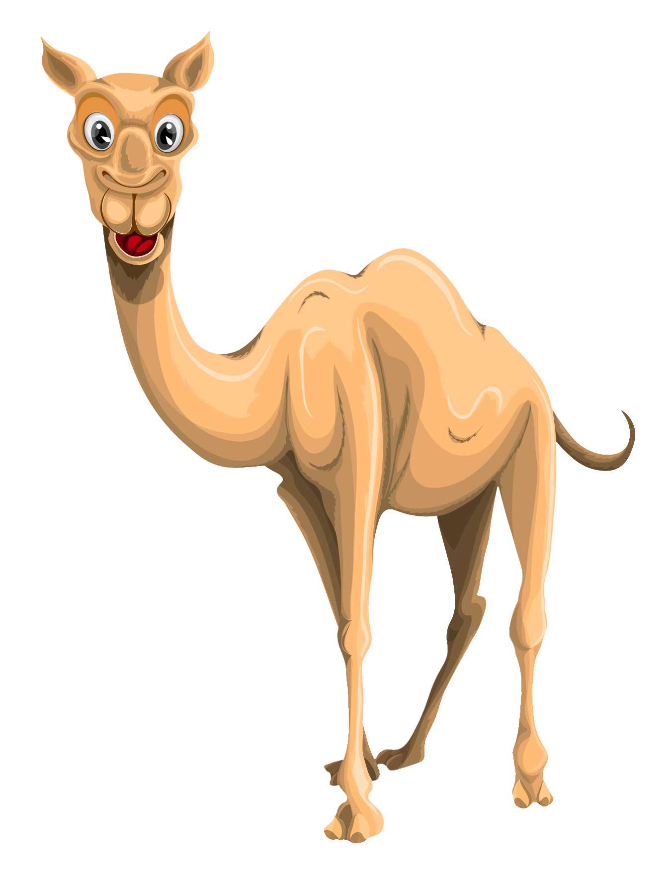 Camel Vector PNG Transparent