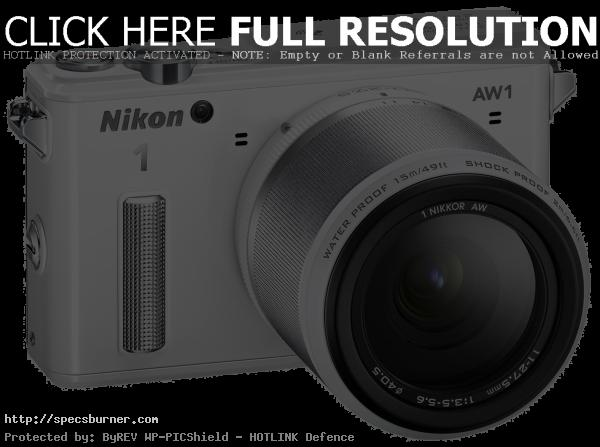 Nikon 1 AW1 14.2 MP HD Waterproof Shockproof Digital Camera - Camera Flash PNG HD