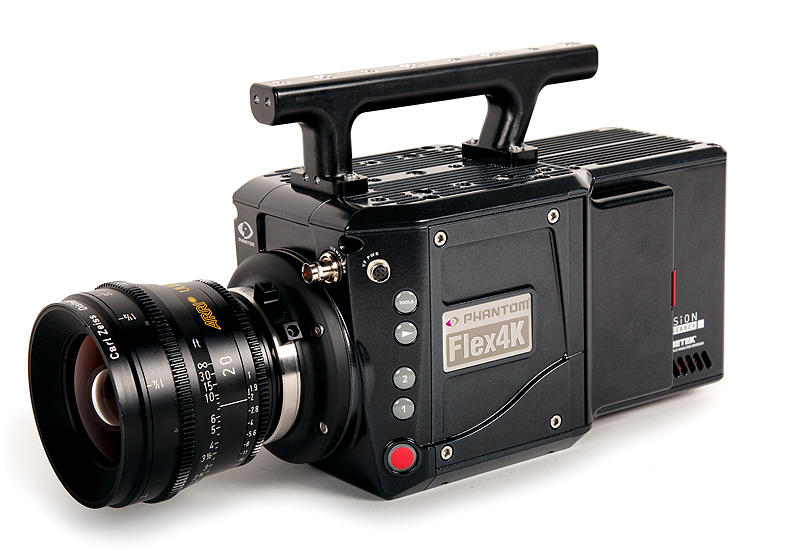 PHANTOM FLEX 4K - Camera Flash PNG HD