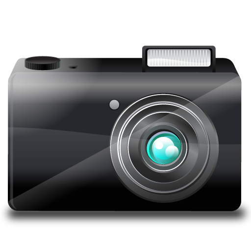 Point And Shoot Camera Icon 512x512 png - Camera Flash PNG HD