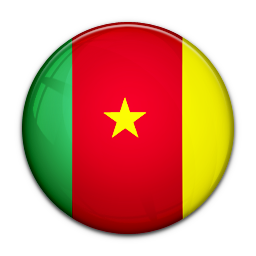 128x128 px, Flag Of Cameroon Icon 256x256 png - Cameroon PNG