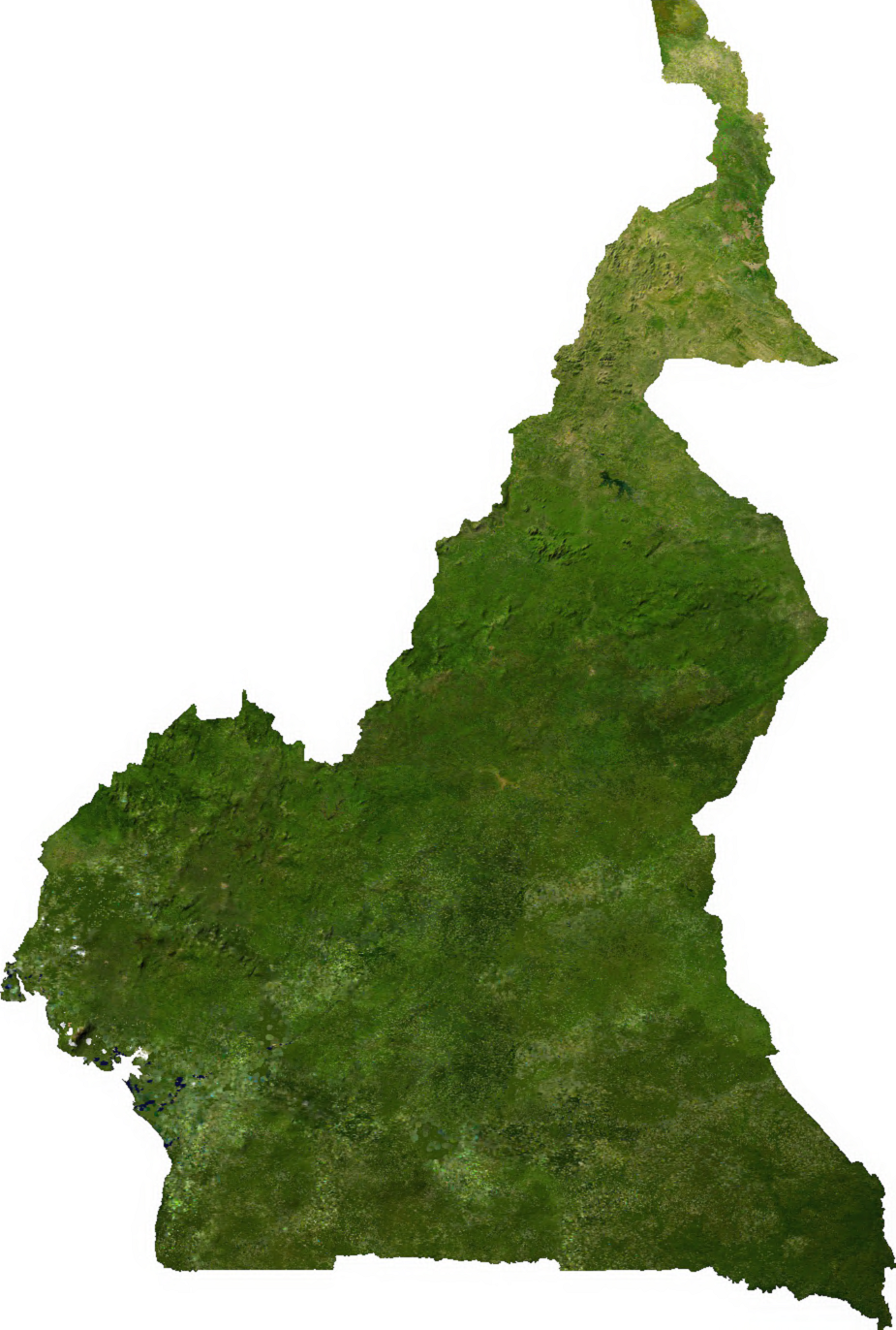 File:Cameroon sat.png - Cameroon PNG