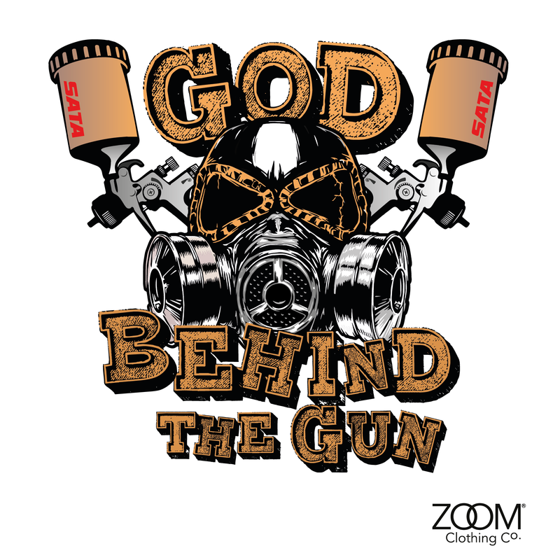 God behind the gun blue camo T.Shirts - product images of - Camo Day PNG