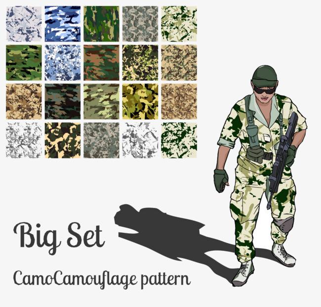 People wearing camouflage uniforms, Gun, Wearing Camouflage Uniforms,  Military Uniform PNG Image and - Camo Day PNG