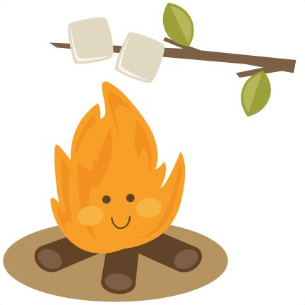 pin Camper clipart campfire marshmallow #2 - Campfire Smores PNG