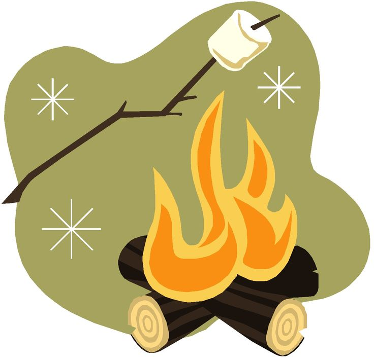 pin Camper clipart campfire marshmallow #8 - Campfire Smores PNG