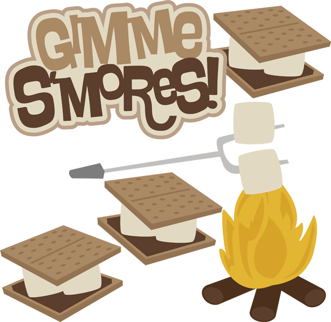 pin Campfire clipart smore #2 - Campfire Smores PNG