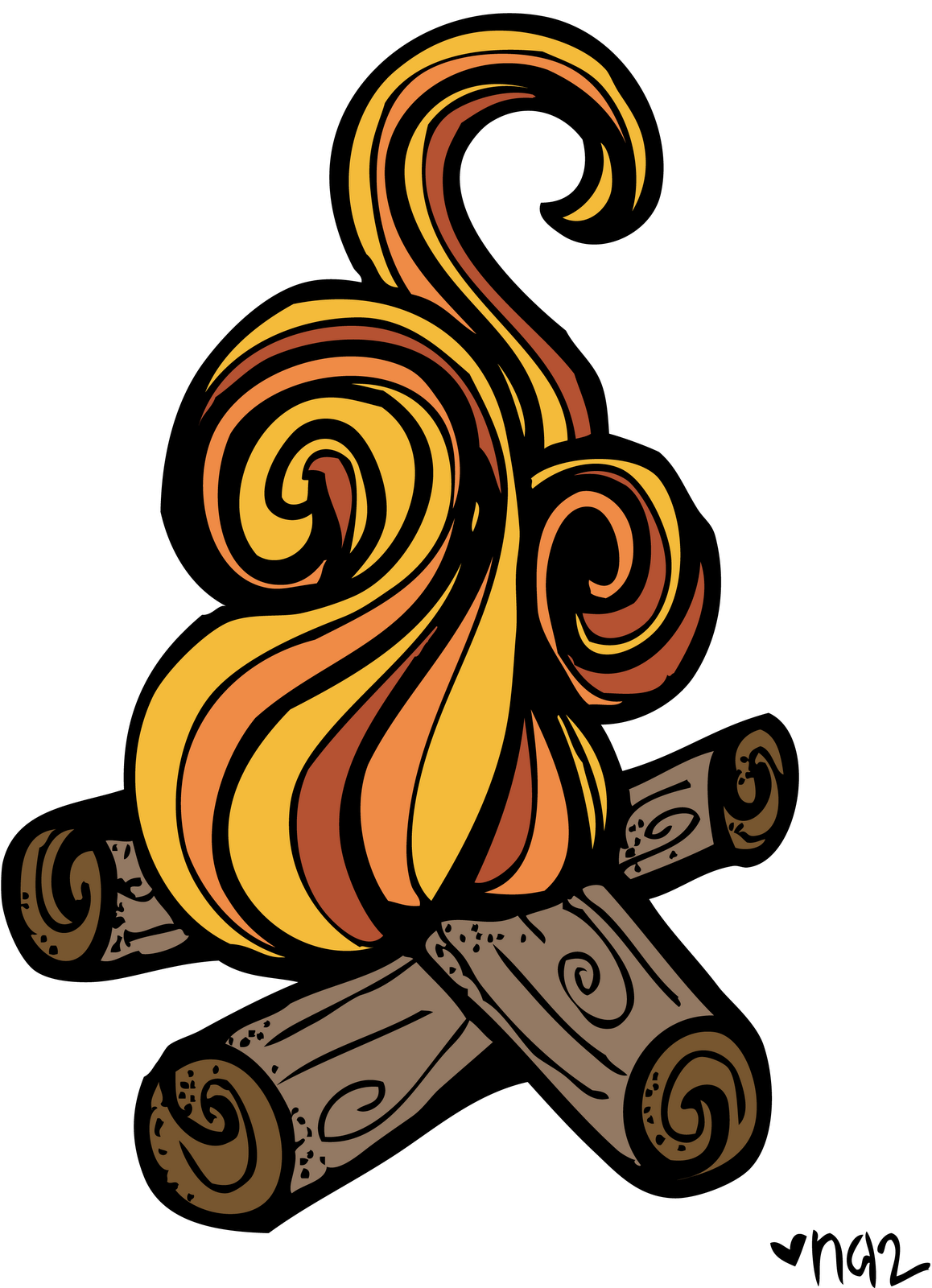 Pix For Smores Campfire Clipart - Campfire Smores PNG